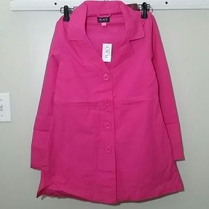 Other - The Children's Place Girls Pink Trench Coat